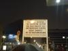 Checkpoint Charlie Schild - Ende Amerikanischer Sektor