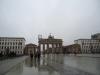 Brandenburger Tor im Regen