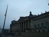 Abgesperrter Reichstag in Berlin