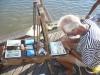 Einheimischer Künstler in Buzios (Brasilien)
