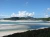 Blick über Whitehaven Beach