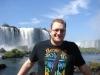 Portrait vor den Iguazu Wasserfällen
