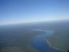 Nationalpark und Fluss Iguazu aus der Luft