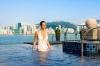Infinity Pool auf dem Dach des Interconti Hongkong