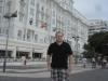 Vor dem Copacabana Palace - Rio de Janeiro (Brasilien)