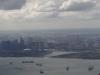 Marina Bay Sands und Singapore Flyer sind bereits aus dem Flugzeug zu sehen