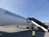 South African Airways Maschine beim Boarding (Außenposition)