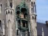 Glockenspiel am Marienplatz München