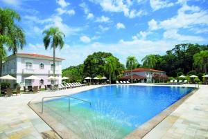 Pool im Hotel Das Cataratas Iguacu an den Iguazu-Wasserfällen