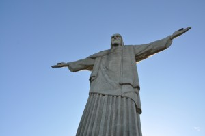 Sehenswürdigkeiten in Rio de Janeiro: der Corcovado mit Jesus-Statue