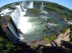 Iguazu Wasserfälle in Foz do Iguacu