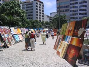 Markt im Stadtteil Ipanema (Rio de Janeiro)