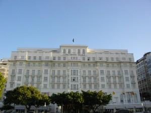 Copacabana Palace Hotel in Rio de Janeiro