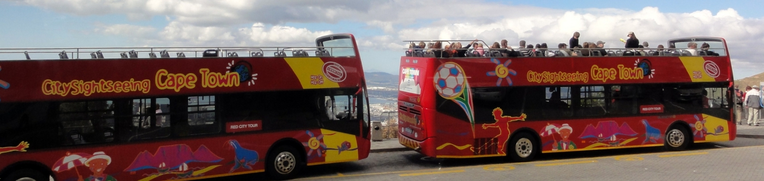 Hop on hop off Sightseeing Tour in Kapstadt Südafrika