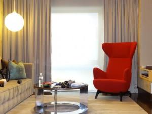 Singapur Reise: Zimmer im Naumi Hotel Singapore