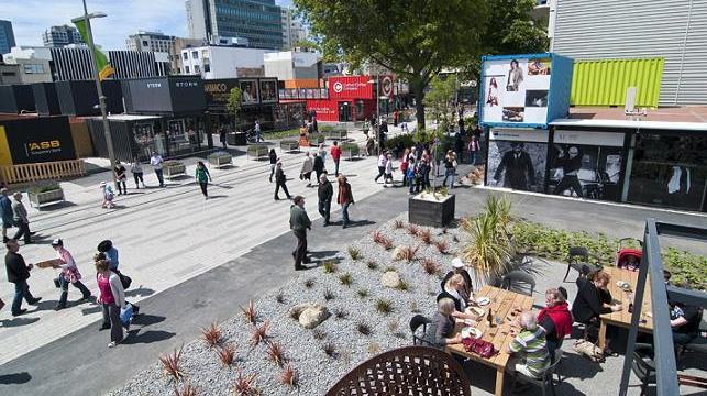 Christchurch – eine Stadt erfindet sich neu