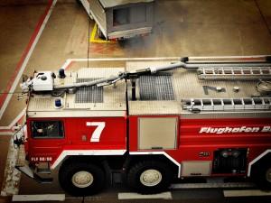 Flughafen Feuerwehr: Einsatz bei Notlandung oder Absturz