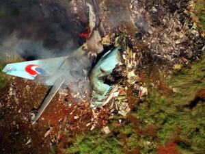 Flugzeugabsturz Korean Airlines Schwarze Liste