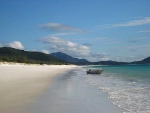 Strand auf Whitsunday Islands