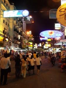 Koh San Road in Bangkok