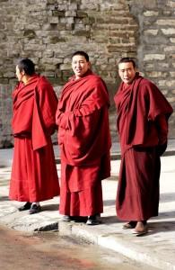 Tibet Reisen: Tibetische_Moenche - Foto: China Tours