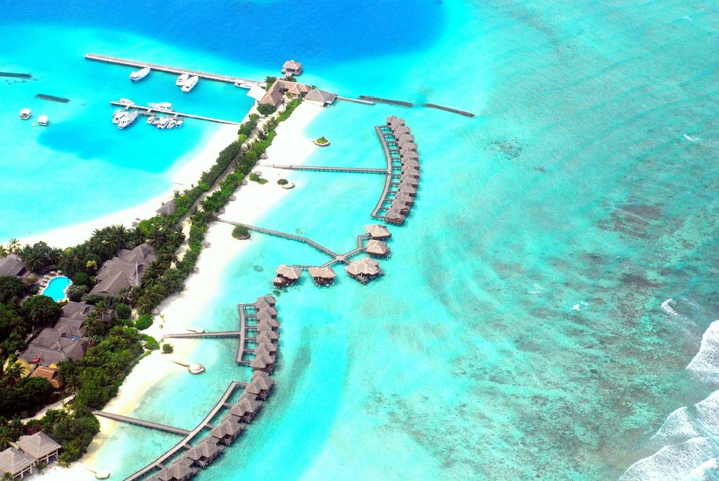 Maldives, How blue can it be, nattu