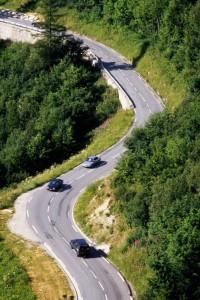 Eine Autotour durch Europa