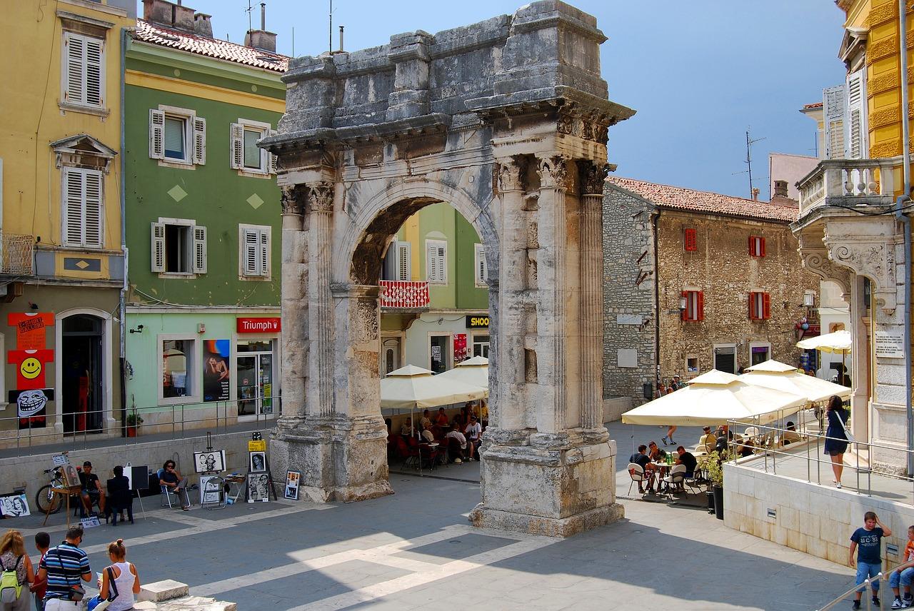 Pula Kroatien